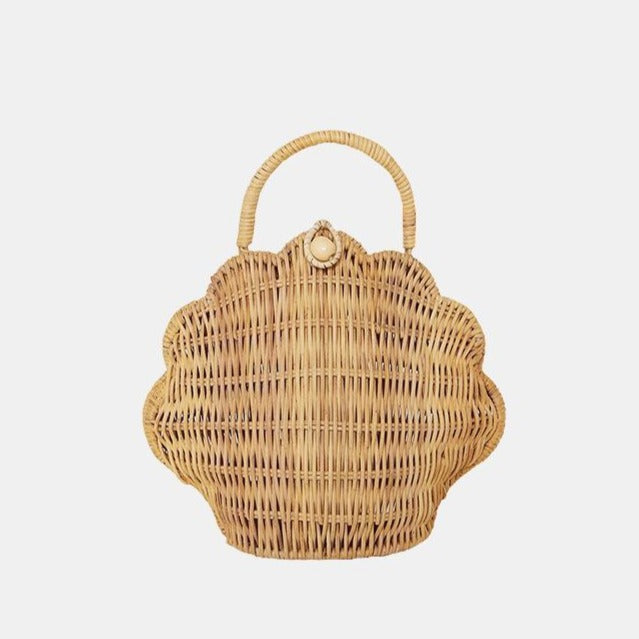 Olli Ella - Shell Purse Bag, Straw