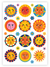 Sonne Temporary Tattoos Sheet