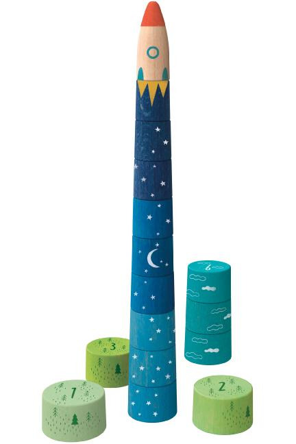 Up to the Stars Stacking Game, 16pc