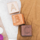 Heirloom ABC 123 Wood Blocks