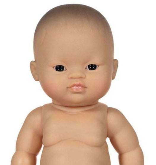 Asian with Brown Eyes Doll, Boy - Minikane