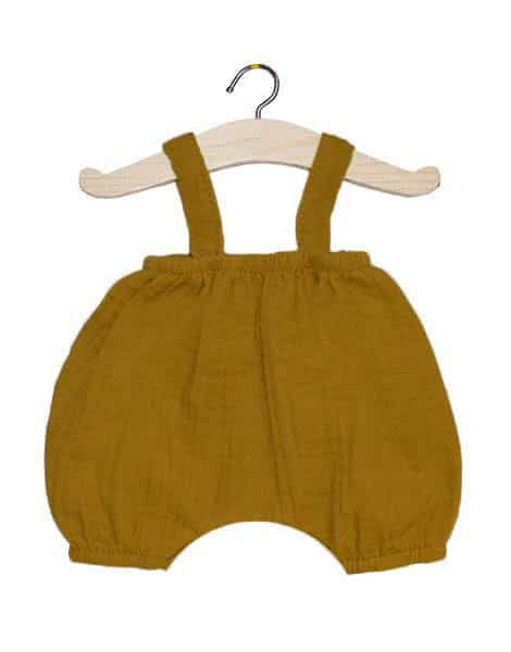 Bloomer cotton double gauze, camel - Minikane