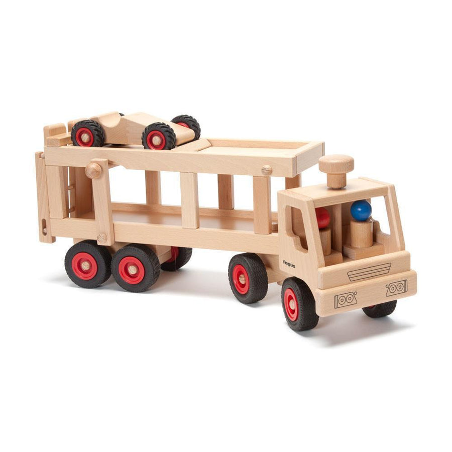Fagus - Wooden Car Transporter