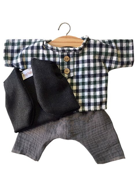 Marius Outfit with Vest, Shirt & Pants - Minikane