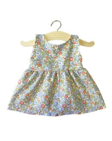 FAUSTINE Baby Doll Dress, Liberty Tana Lawn - Minikane