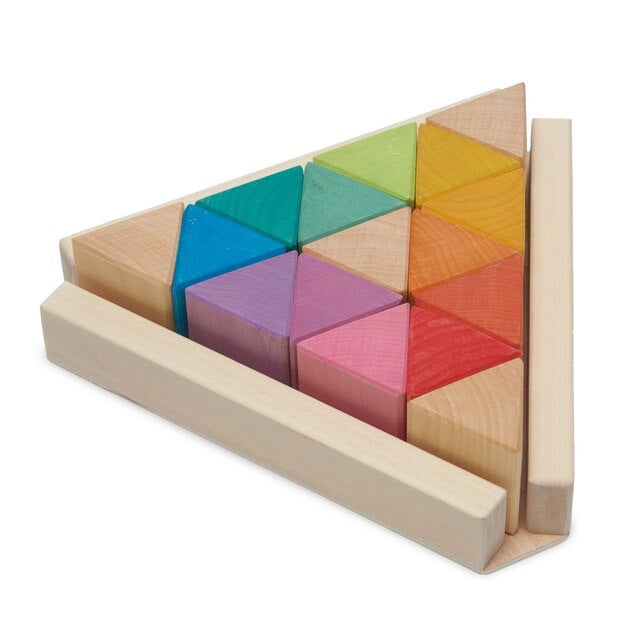 Ocamora - 'Triangular Prisms' - Wooden Blocks