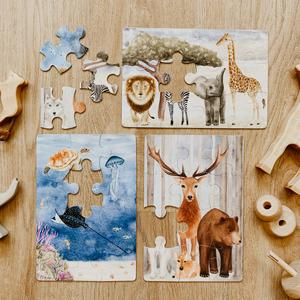 Majestic Wild Puzzle Collection, Set of 3