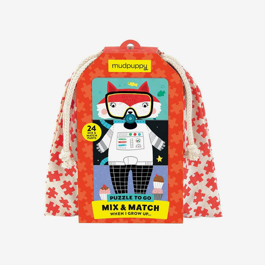 When I Grow Up Mix & Match Puzzle To Go