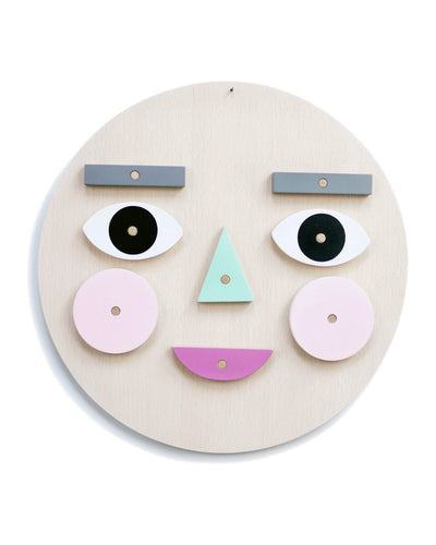 Make a Face Wooden Toy