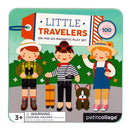 little travelers mix and match magnetic play set