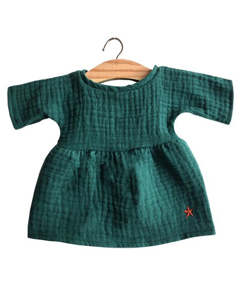 Paola Reina Faustine Baby Doll Dress – Evergreen