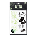 Glowing Garden (Glow in the Dark) Tattoo Sheet, Set of 2