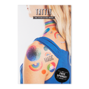 Rainbow Tattoos, Set of 8