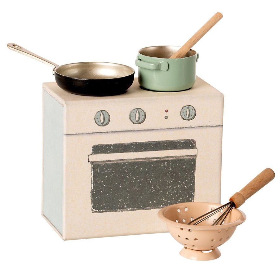 Maileg - Cooking Set, NEW