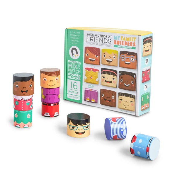 'My Friends' Magnetic Blocks - exclusive