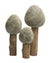 Winter Forest Felt Trees, 3pc