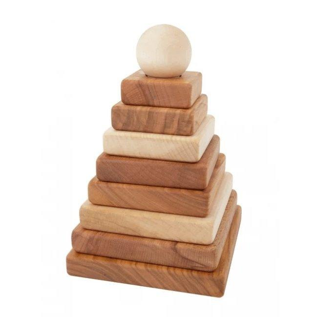 Natural pyramid Stacker