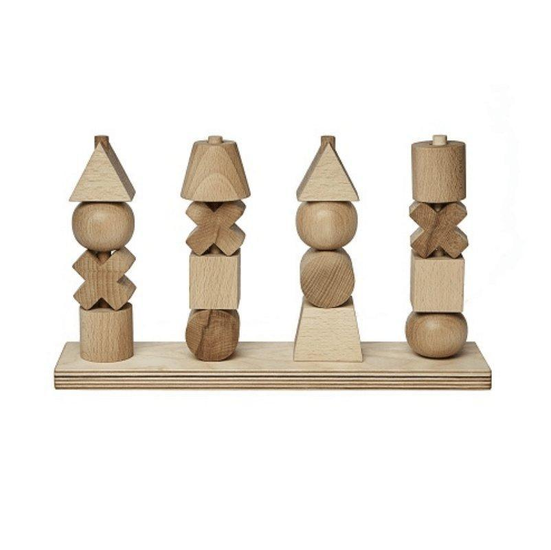 Natural Stacking Toy XL