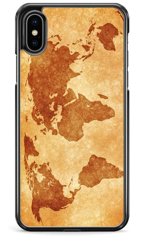Vintage World Map - iPhone and Samsung Case From The Gadget Cloud Phone Accessories