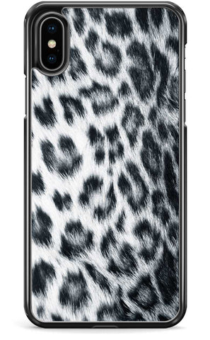 Snow Leopard Print - iPhone and Samsung Case From The Gadget Cloud Phone Accessories