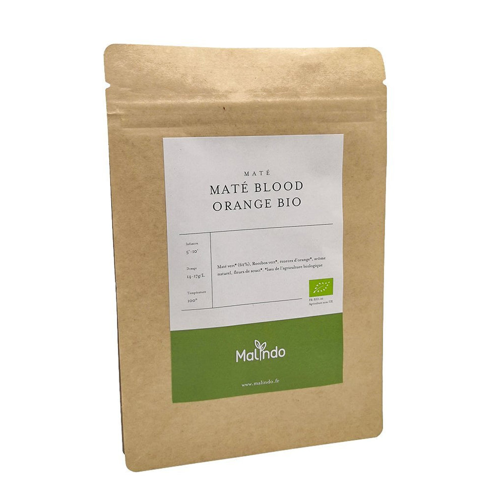 Maté Maté Blood Orange BIO - Malindo