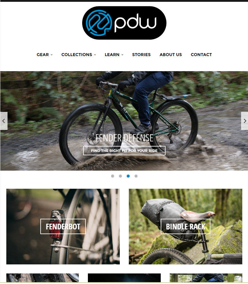 Presenting the new RidePDW.com!