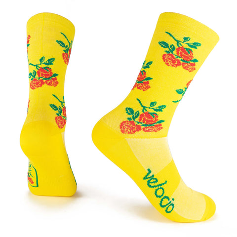 Signature Rose City Socks - PDW x Velocio