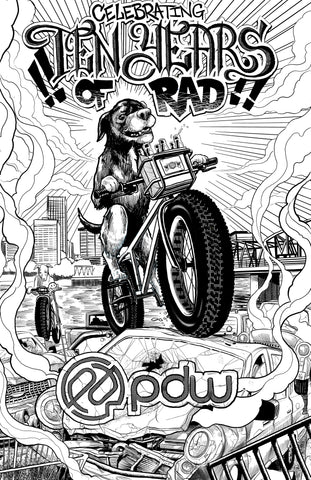 PDW 10 Years of RAD Poster