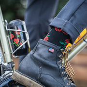 Signature Wool Rose City Socks - PDW x Velocio