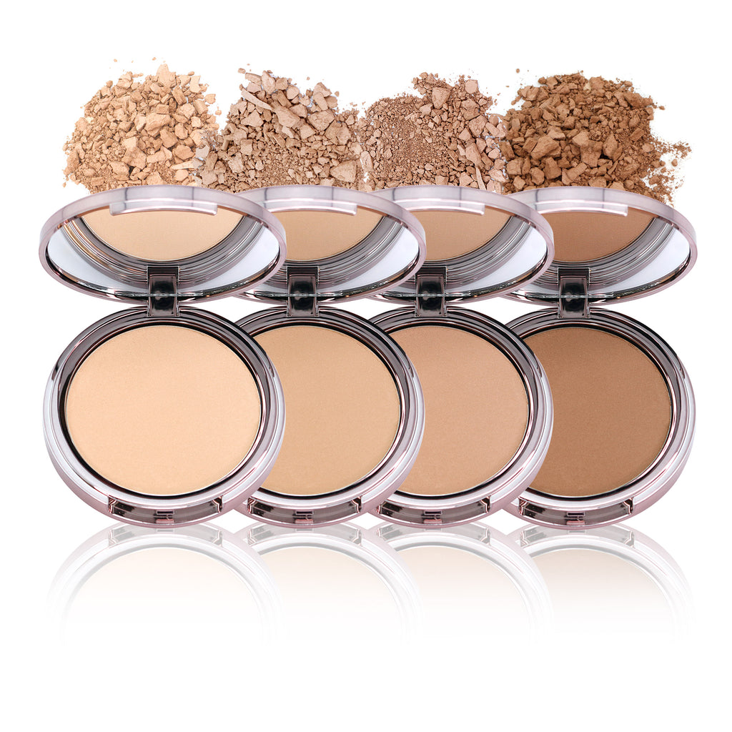Luminous Face Powder with Kabuki Brush