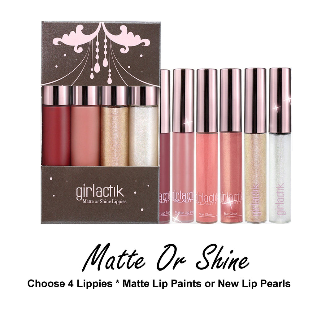 Matte Or Shine Lippies