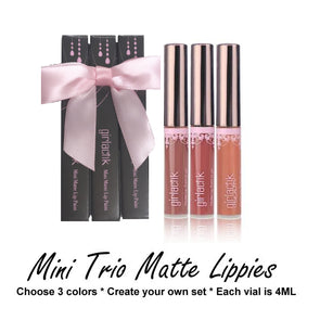 Mini Trio Matte Lippies (Rock My Own)