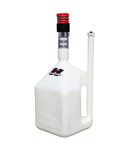 Hunsaker 8 gallon quikfill dumpcan fuel jug with dry break set up