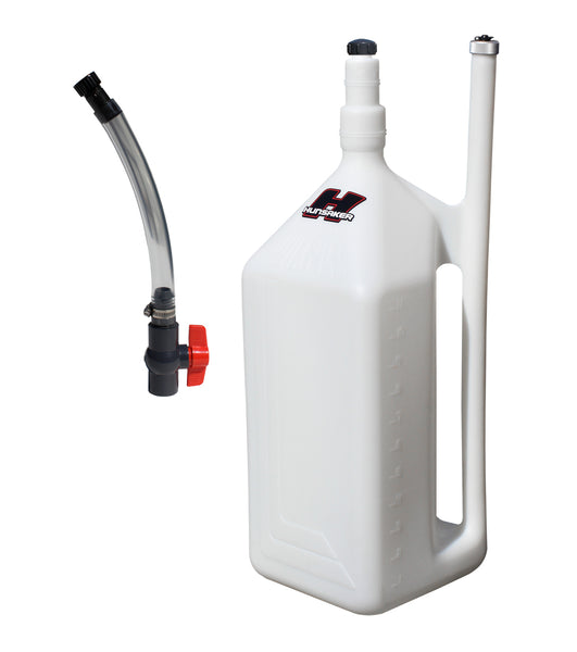 11 gallon quickfill fuel dump can with hose kit