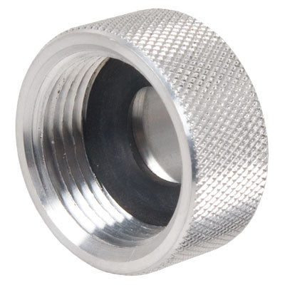 "Quikfill spout caps, 1.00"" billet cap, threaded cap"