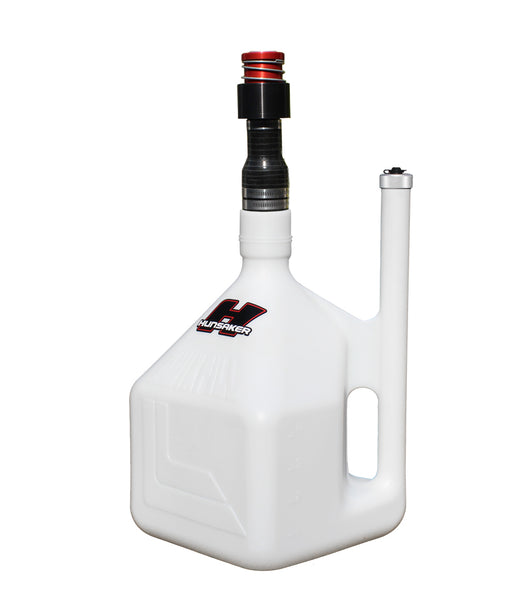 "Hunsaker 5 Gallon Dumpcan w/1.50"" RedHead Male Dry Break Probe"