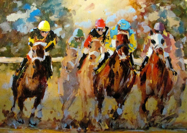 """American Pharaoh - Rebel Stakes Oaklawn Park Hot Springs 2015"""