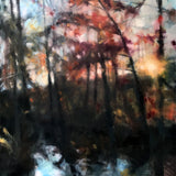 """Fall Creek""   48""x48"""
