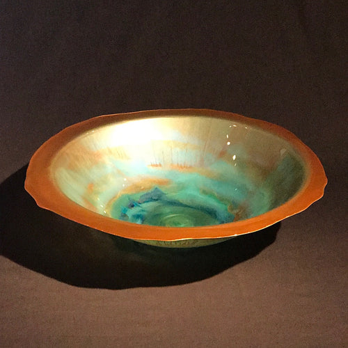 "Florentine Bowl - ""Warm Breeze"""