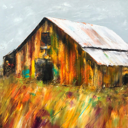 """Golden Days""    30""x30"""