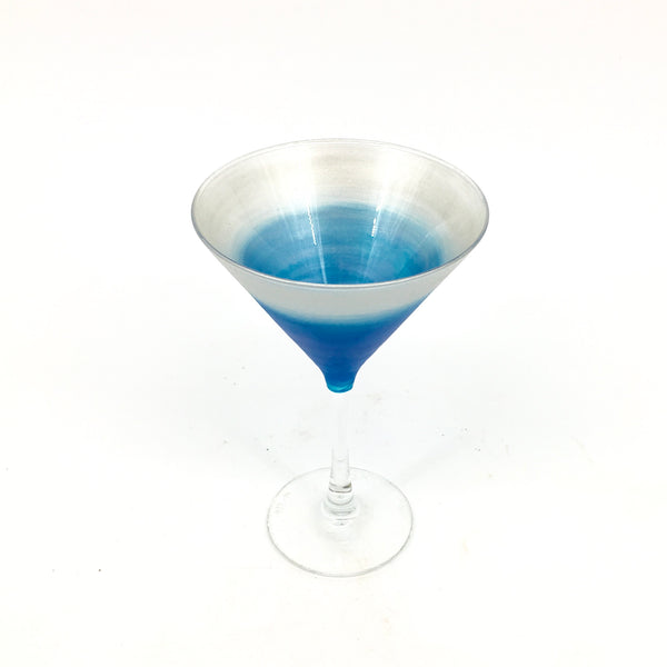 Azure Blue Martini-*made to order, please allow two week turn-around