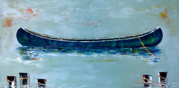 """Out of the Blue"" 24 x 48"""