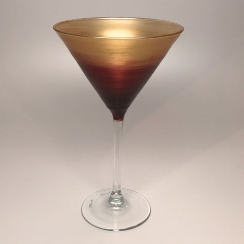 Martini - Gold & Ruby-Made to Order