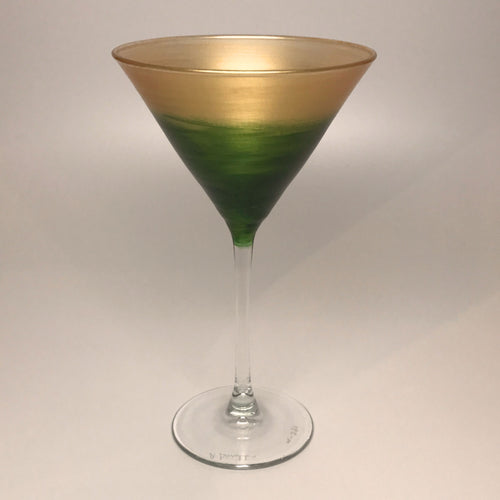 Martini - Gold & Green-made to order