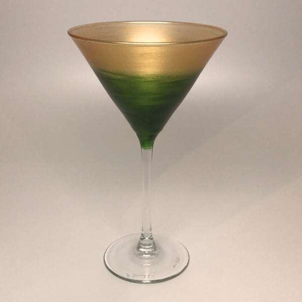 Martini - Gold and Chartreuse