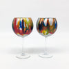 Carnival Wine Goblets (pair) *In stock