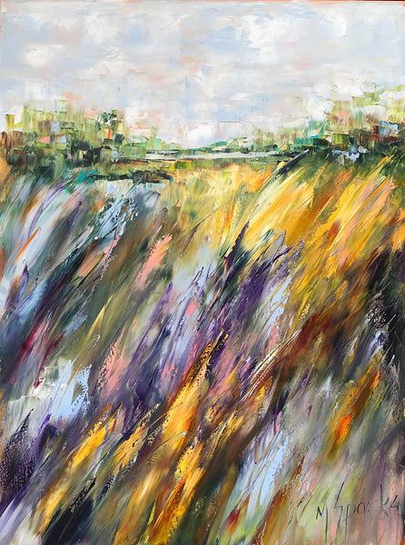 """Magic Marsh"" 30x40"