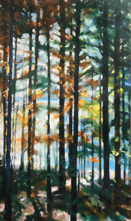 """Through the Woods"" 40x30"