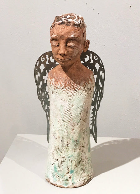 """Copper Sally"" 11 x 4 x 9"