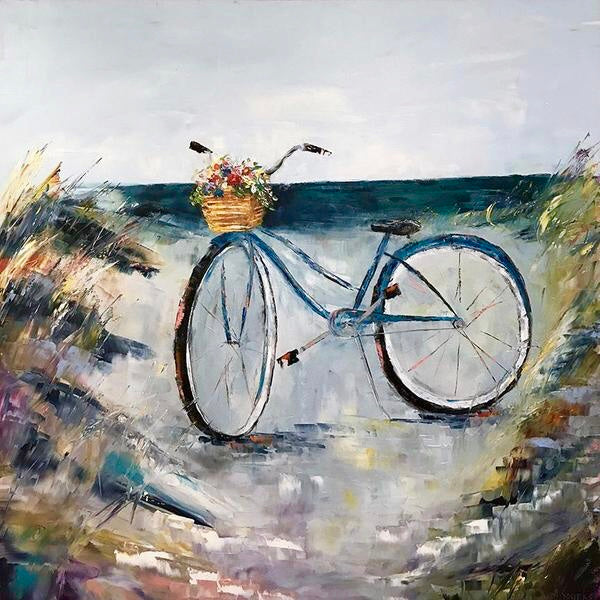 """Beach Birthday Surprise""   40""x40"""